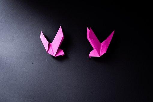 Origami, Fold, Folding Paper, Paper, Birds
