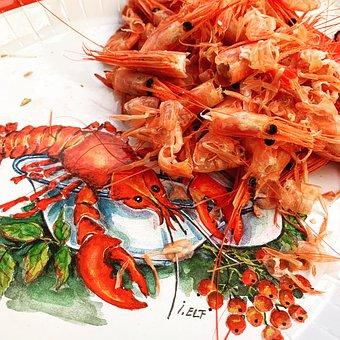 Food, Shrimp, Seafood, Meal, Fresh, Delicious, Prawn