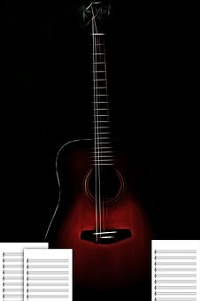 Guitar, Instrument, Musical, Acoustic, Sound
