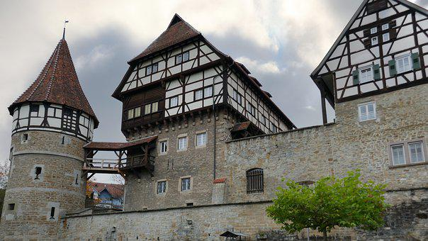 Castle, Landmark, Old Town, Architecture, Half-timbered