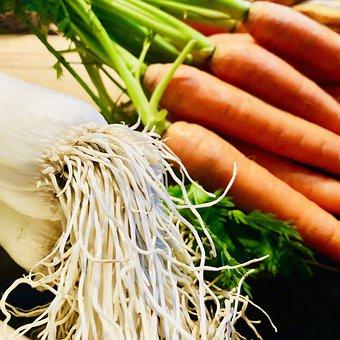 Root, Leek, Food, Cooking, Healthy, Vitamins, Bouillon