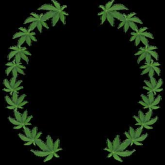 Herb, Cannabis, Border, Marijuana, Leaves, Ganja, Pot