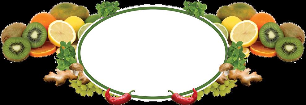Sign, Fruit, Banana, Food, Peppers, Kiwi, Orange