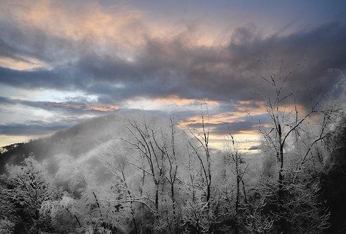 Semmering, Lower Austria, Clouds