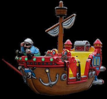 Pirate, Ship, Sail, Boat, Sea, Ocean, Treasure, Storm