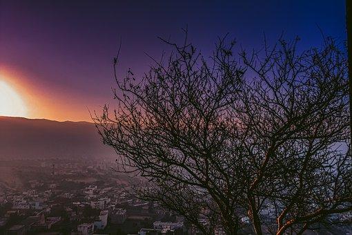 Sunrise, Sunlight, Morning, Dawn, Dusk, Landscape