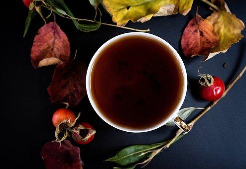 Tea, Cup, Leaves, Teacup, Drink, Beverage, Dried Leaves
