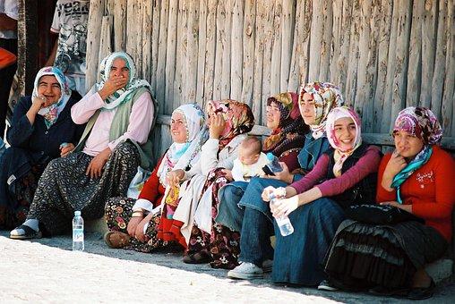 People, Group, Women, Folklore, Shadow, Turkey