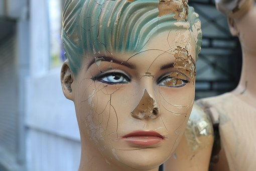 Turkey, Istanbul, Mannequin, Abused, Beaten, Damaged
