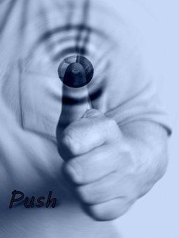 Turn On, Push, Press, Button, Logging Out, Log, Login