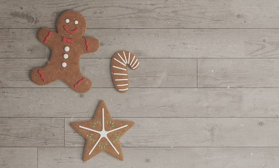 Cookies, Christmas Cookies, Gingerbread Man