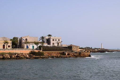 Coast, Coastal Village, Lighthouse, Italy