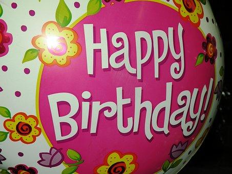 Birthday, Balloon, Party, Celebration, Decoration