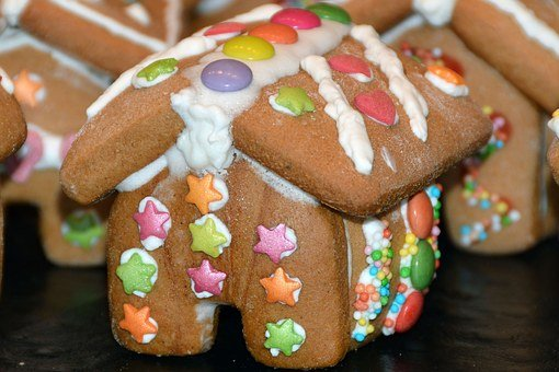Gingerbread House, Gingerbread, Christmas Time, Sweet