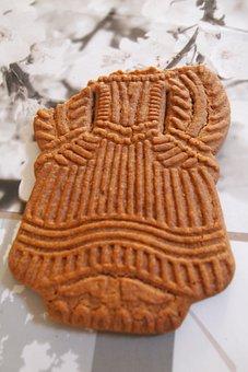 Gingerbread, Gingerbread Man, Cookie, Food, Broken