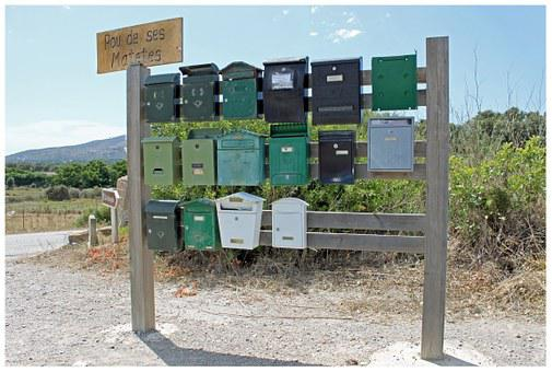 Mailbox, Post, Postman, Collection Point