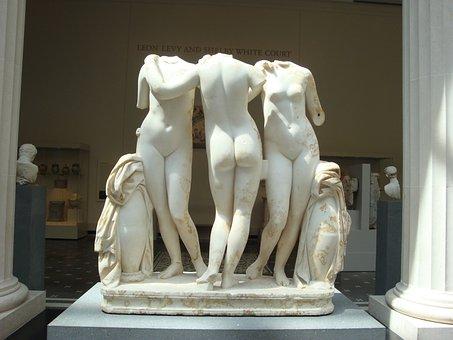 Three Graces, Metropolitan Museum, New York