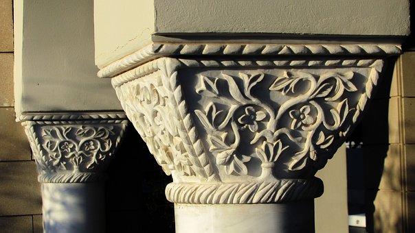 Pillar Capitals, Architecture, Column, Elegance