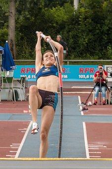 Athletics, Sport, Pole Vault, Junior Gala