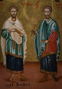 Peter, Paul, Saints, Church, Vatican, Holy, Columns