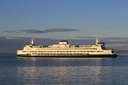 Ferry, Ship, Passenger, Vessel, Transport