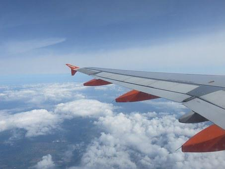 Flight, Easyjet, Wing, Sky, Flying, Fly, Transport