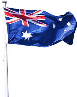 Australian, Flag, National, Symbol, Country