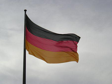 Flag, Germany, Symbol, Sky, Breeze