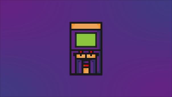 Arcade, Joystick, Gaming, Game, Background, Colorful