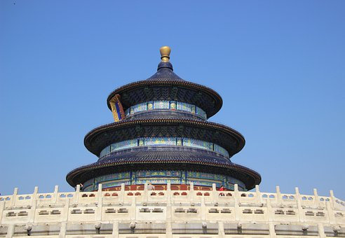Temple Of Heaven, Temple, Architecture, Sky, Building