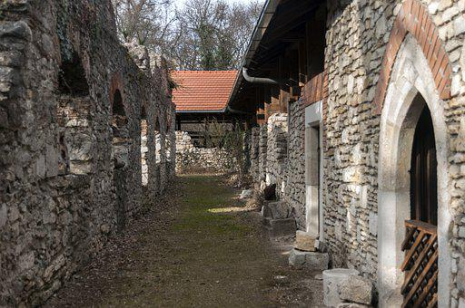 Monastery, Building, Ruins, Religion, Old, Historical