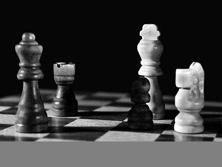 Chess, Board, Chess Pieces, Game, Chess Board