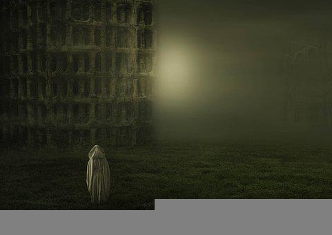 Fantasy, Woman, Cloak, Hood, Mysterious, Meadow