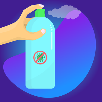 Disinfectant, Bottle, Hand, Sprayer, Spray, Hygiene