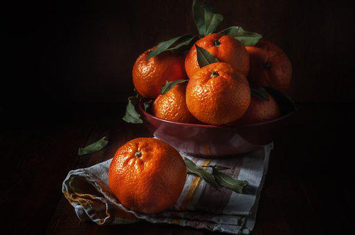 Orange, Tangerine, Citrus, Fruit, Ripe, Juicy, Part