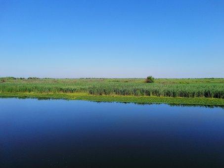 Danube Delta, Nature, Romania, South East Europe, Sky