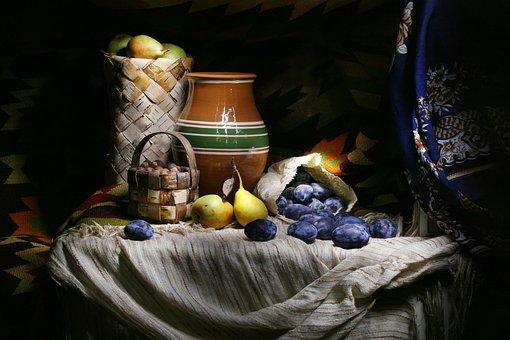 Autumn Gifts, Fruit, Harvest, Autumn, Collection, Plum