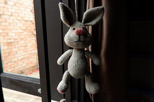 Crochet, Rabbit, Window