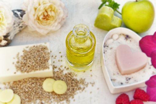 Oil, Sesame Oil, Soap, Cocoa Butter, Fruit, Heart, Love