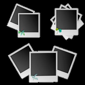 Polaroid, Polaroid Frames, Frame, Retro, Vintage