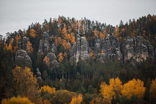 Adršpach, Adršpašské Rocks, Rocks, Nature, Rock