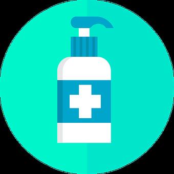 Sanitizer Icon, Sanitizer Spray, Icon, Icons