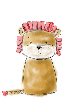 Lion, Toy, Play, Cute, Animal, Colorful, Jungle, Cuddly