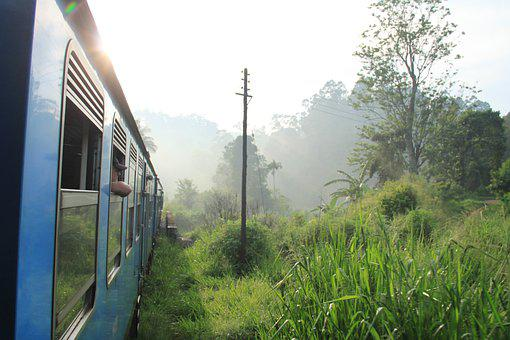 Sri Lanka, Train, Asia, Ceylon, Transport, Railway