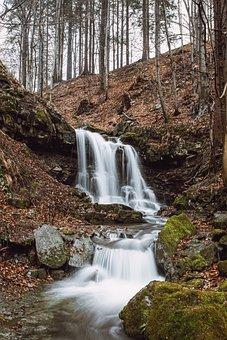 Waterfall, Nature, River, Water, Landscape, Falls