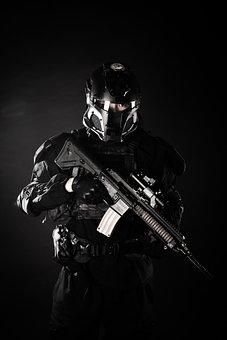 Arms, Gun, Soldier