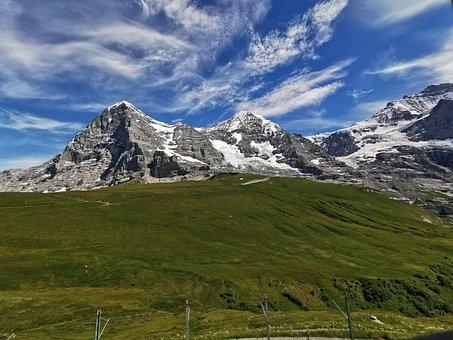 Eiger, Monk, Lauterbrunnen