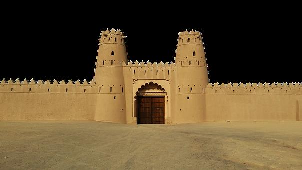 Rampart, Fortress, Castle, Gate, Entrance, Building