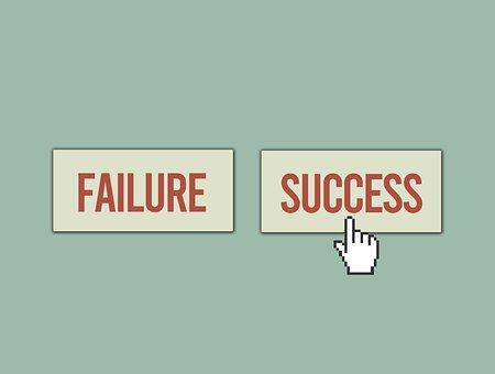 Failure, Success, Hand Cursor, Failure Or Success