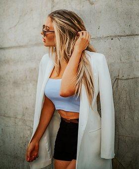 Portrait, Model, Women, Blonde, Young, Posing
